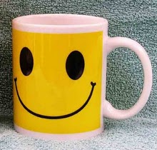 Smile; organic coffee is beneficial to blogging.