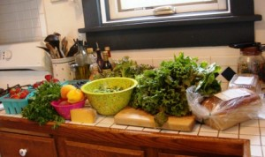 A Very Happy Locavore's Kitchen