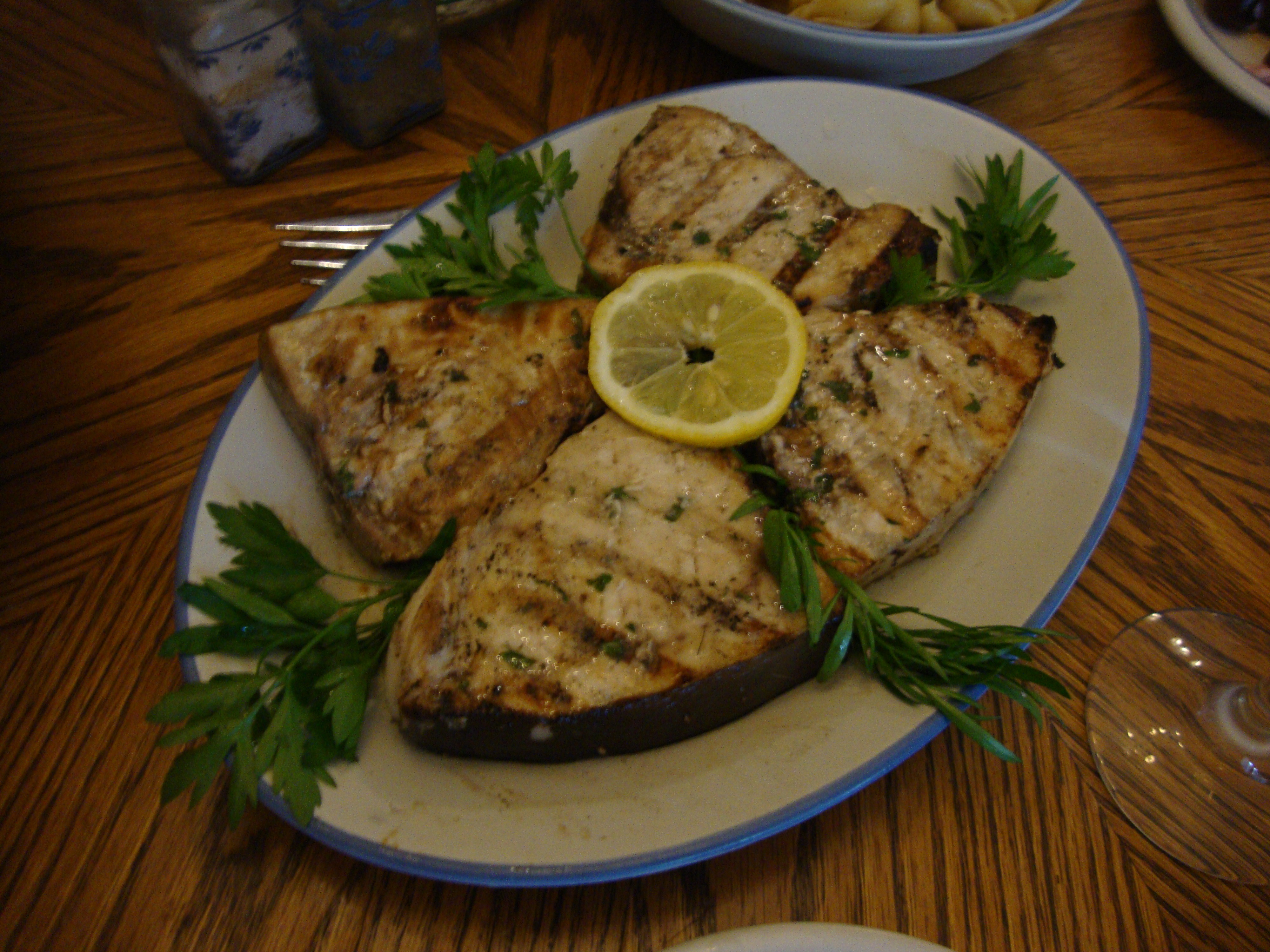 The Main Dish: Swordfish