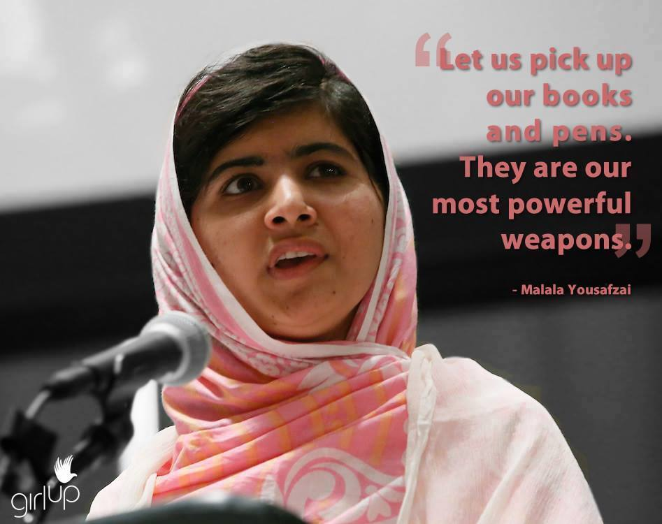 Malala books are powerful