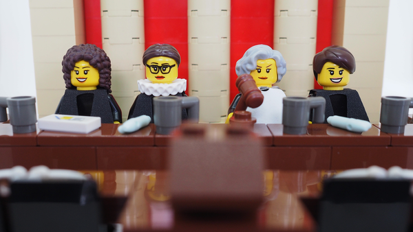 Justices in Lego Brick