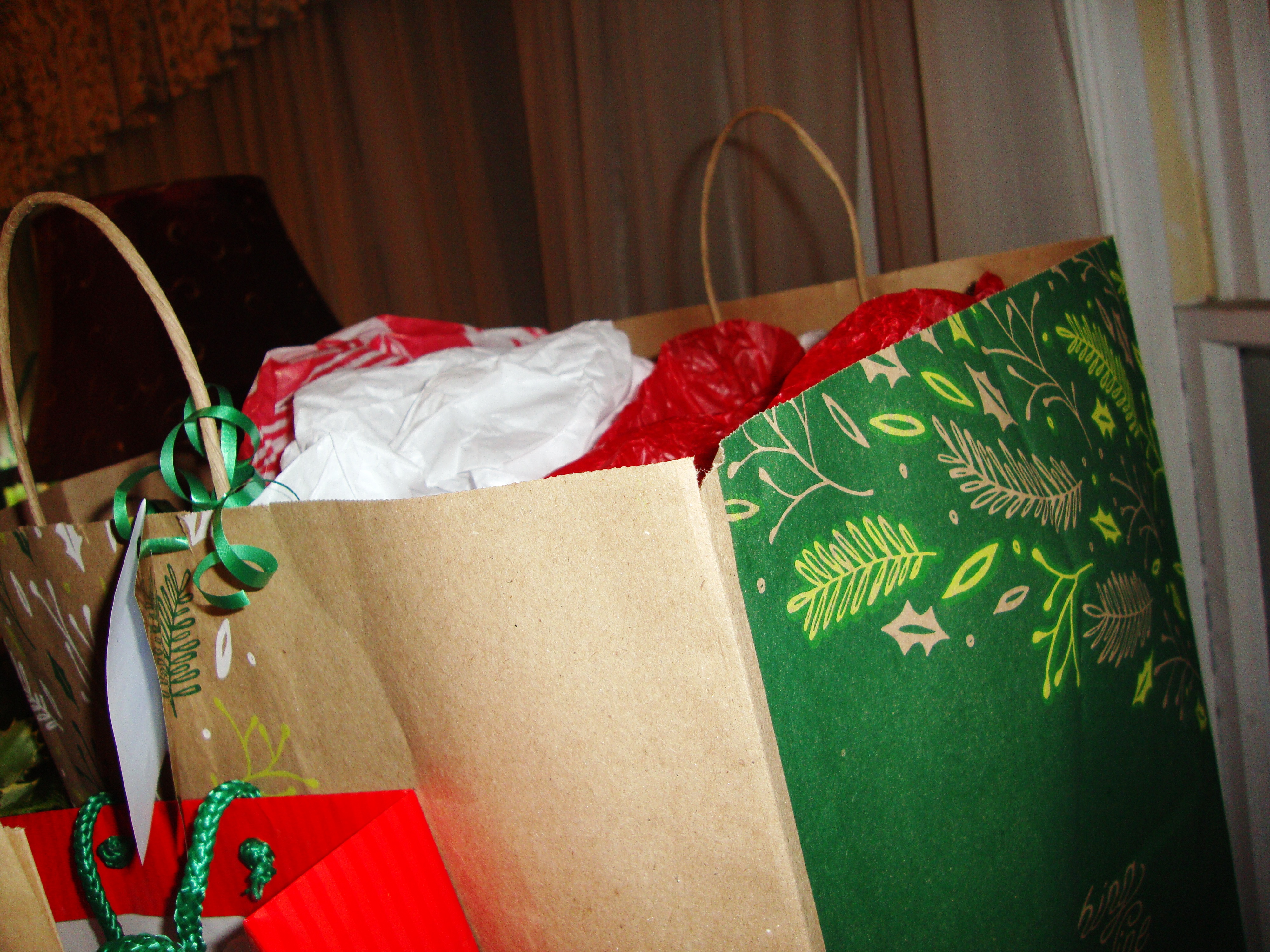 Wrapping Tip: Look for opportunities to reuse.