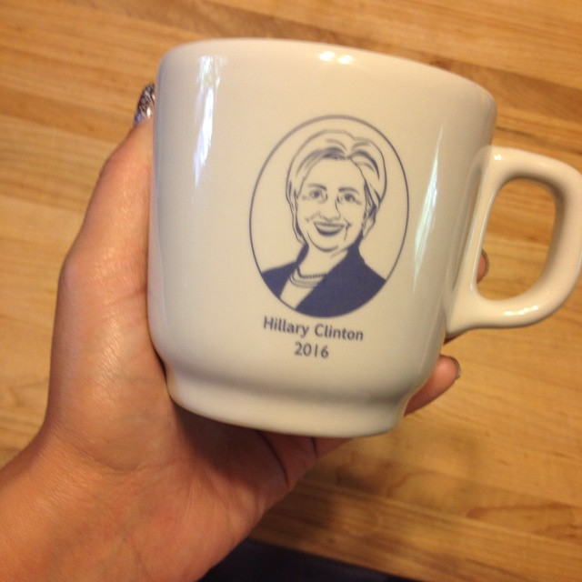 This would go well with my Obama mug, wouldn't it?